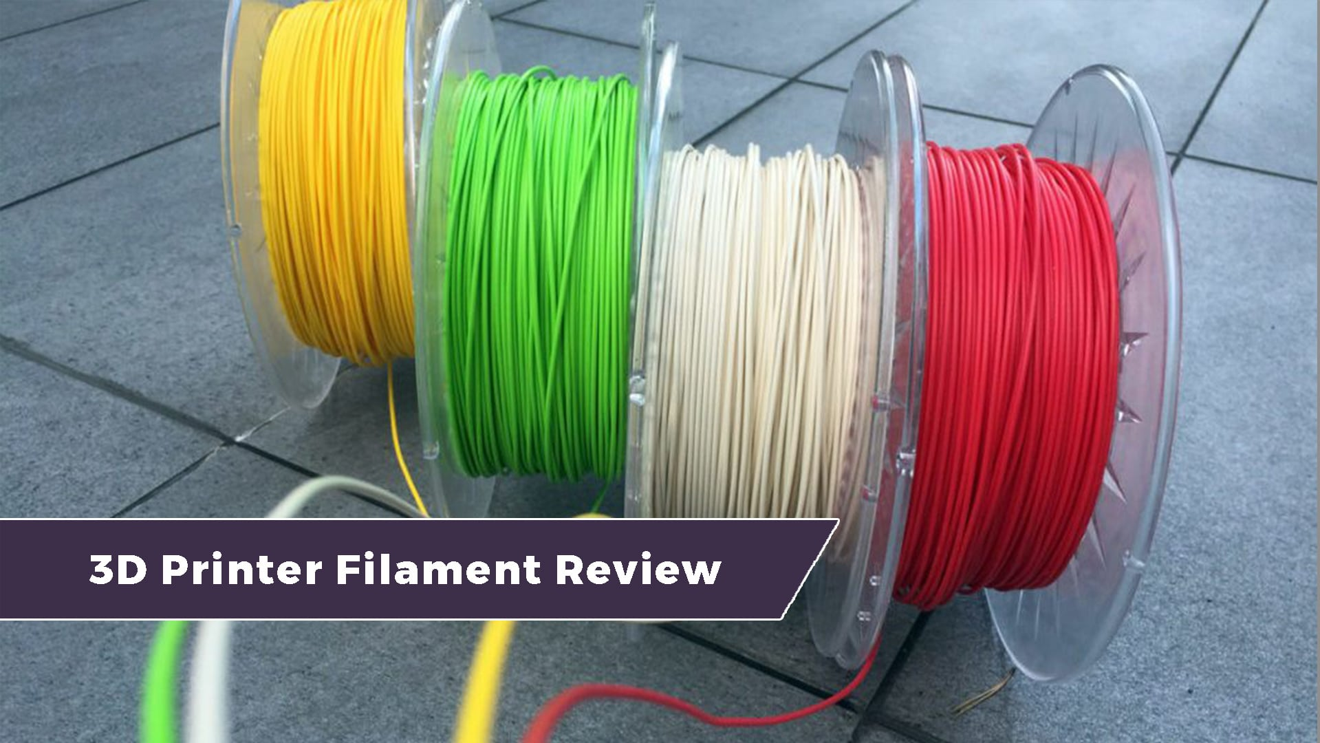 3D Printer Filament Review – Top Ten Types of Printing Materials