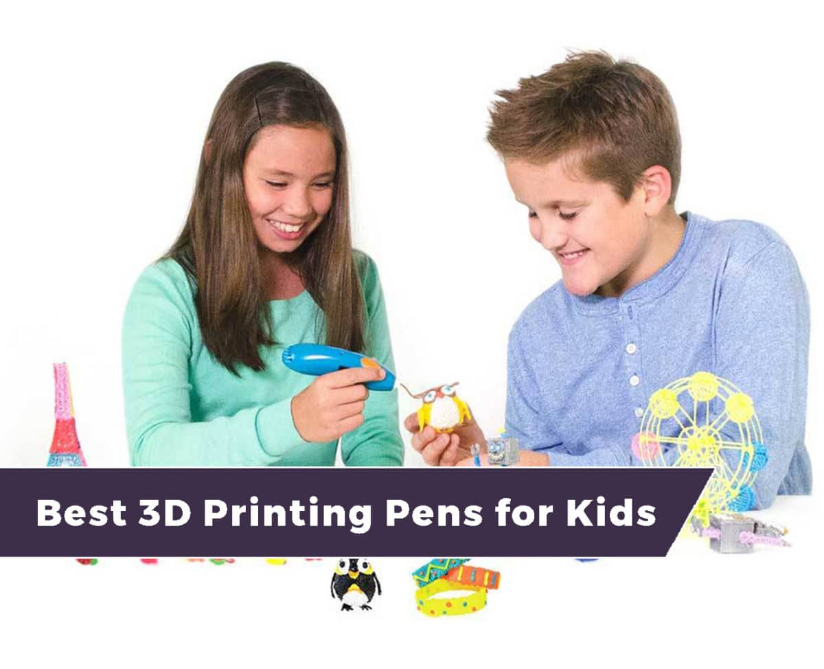 The Best 3D Printing Pens for Kids – Our 2021 Review