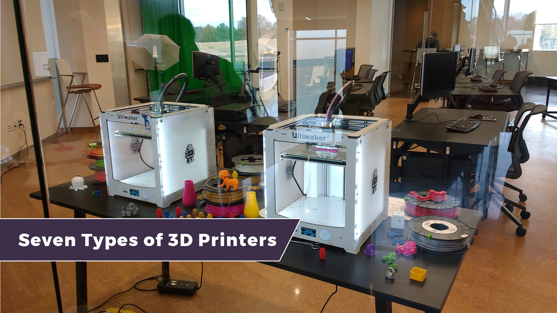 The different types of 3D printing technology 1