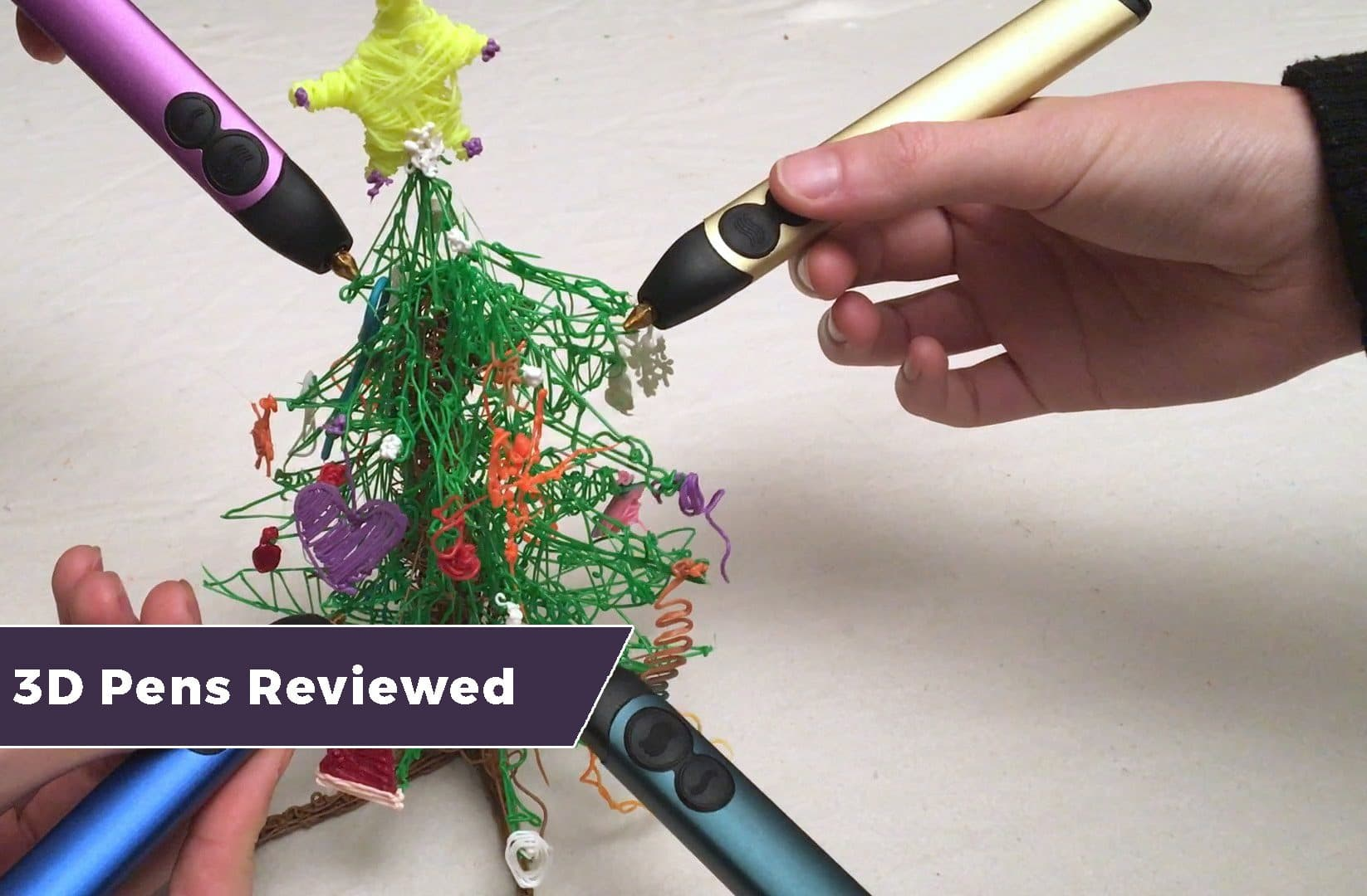 Best 3D Pens Reviewed – For 3D Painting and Drawing 1