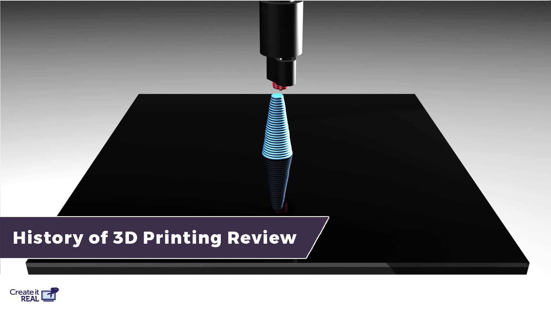 The History of 3D printing - From the first 3D printer to modern inventions 21