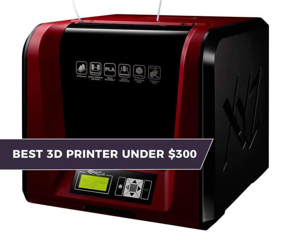 The Best 3D Printer Under $300 – [2020 Value Picks] 1