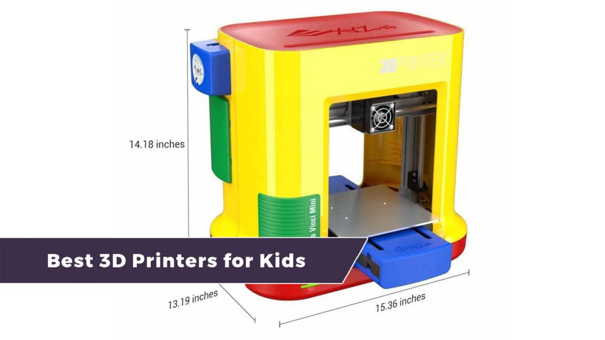 The Best 3D Printers for Kids – 5 Child-Friendly Picks