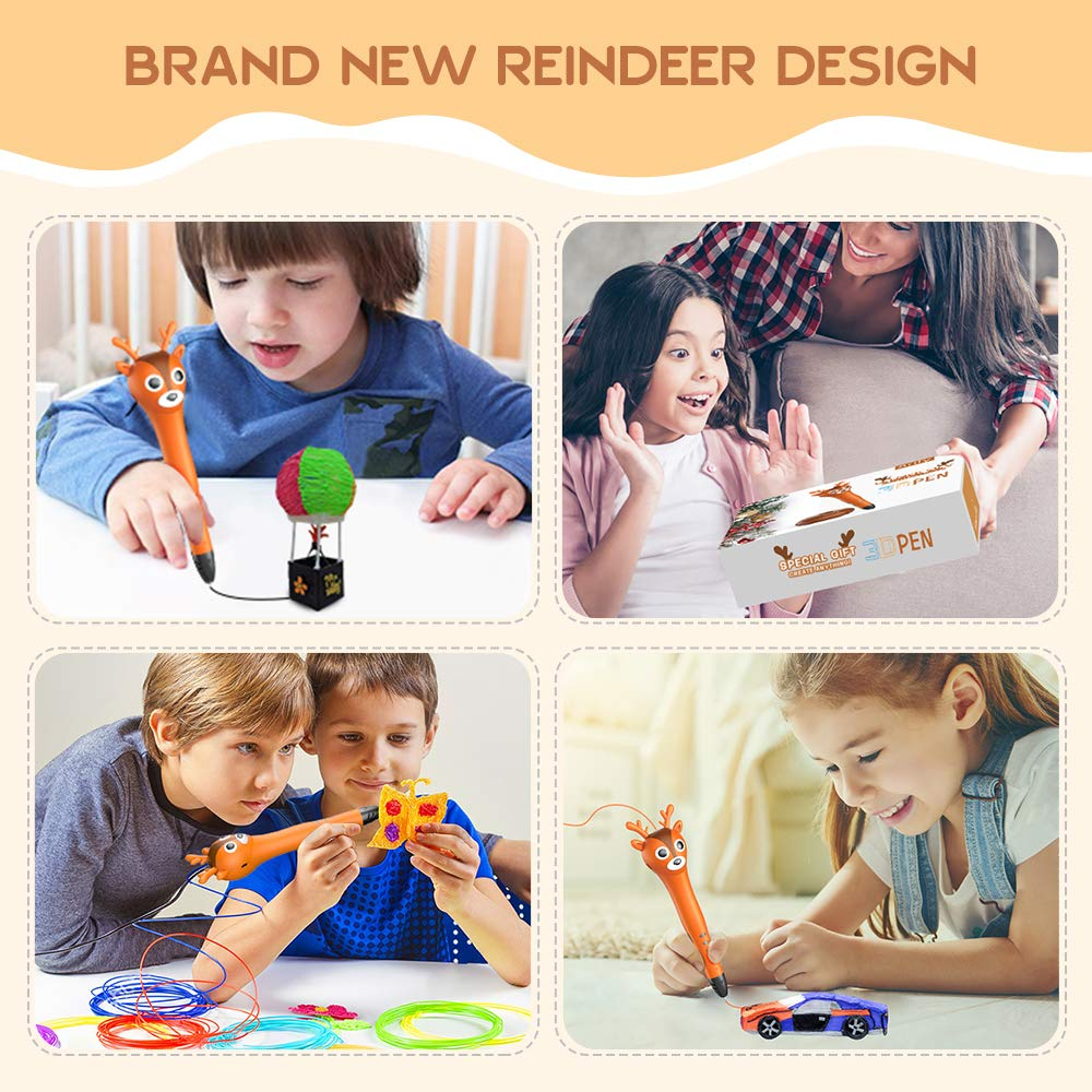 kids and 3d pen